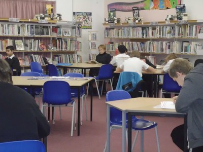 image of school library