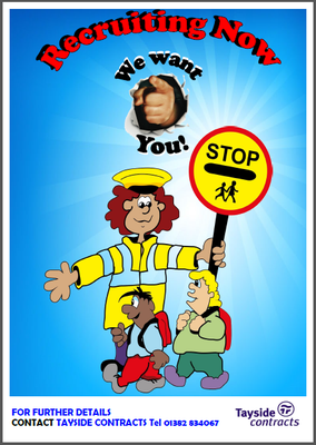 school crossing patrol poster